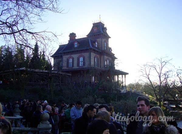 Phantom Manor Mejores Atracciones de Disneyland París