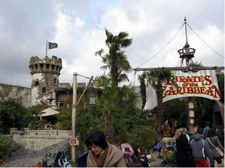 Piratas del Caribe Disneyland Paris