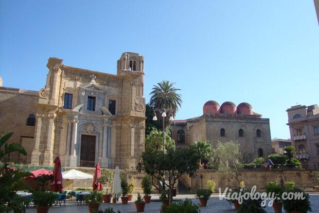 Iglesia San Cataldo y Martorana de Palermo
