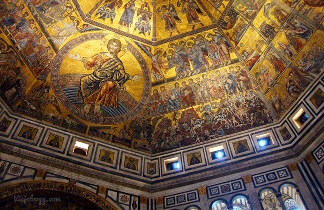 Interior Baptisterio Florencia
