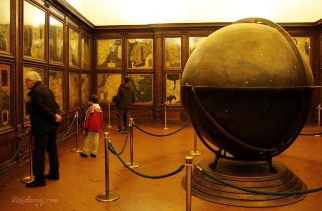 Sala de los Mapas del Palazzo Vecchio