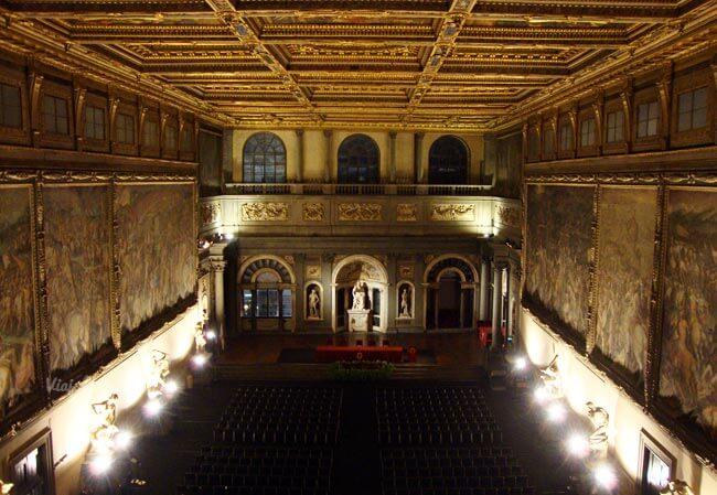 Salón de los Quinientos del Palazzo Vecchio