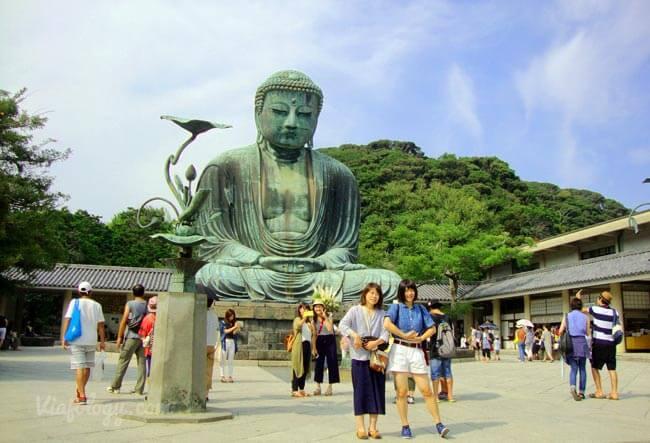 Buda o Daibutsu de Kamakura