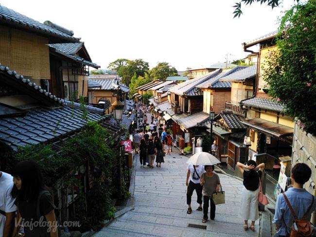 Calles de Gion en Kioto