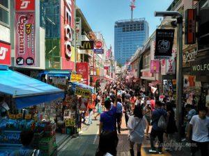 Calle Takeshita en Tokyo