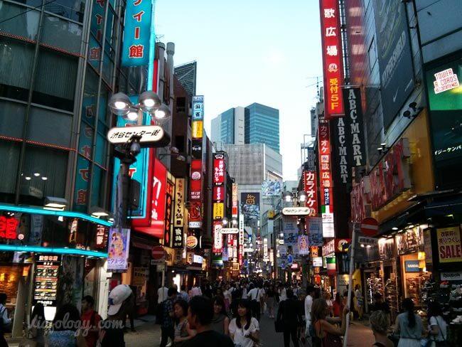 Shibuja en Tokio