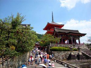 Templo Kiyomizu-dera en Kioto