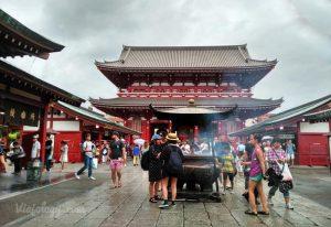 Templo Senso-ji de Tokio