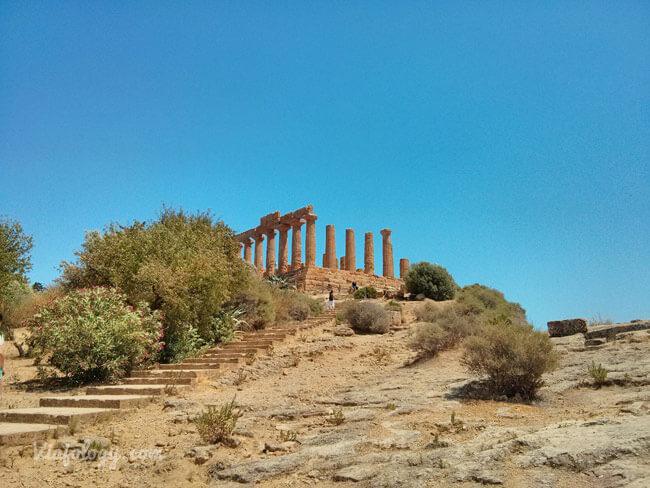Templo de Hera en Agrigento