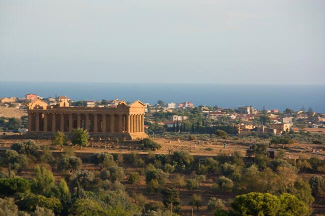 Valle de los Templos en Sicilia