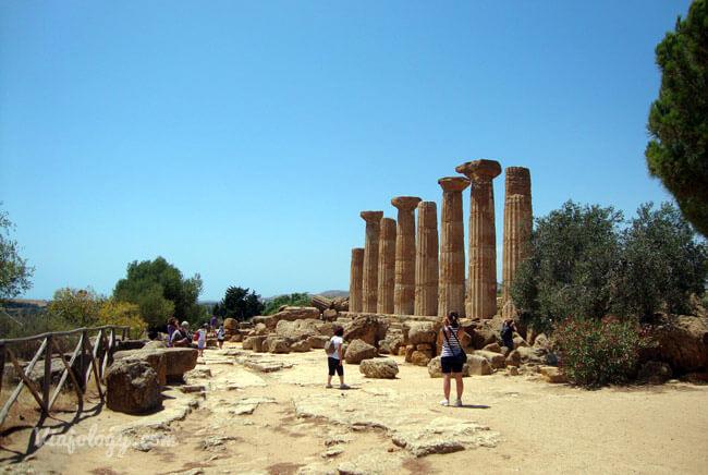 Templo de Heracles de Agrigento
