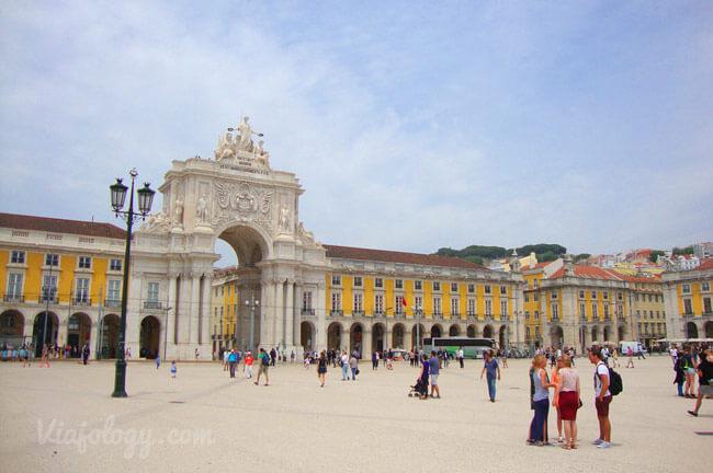 Lugares que ver en Lisboa - Plaza del Comercio