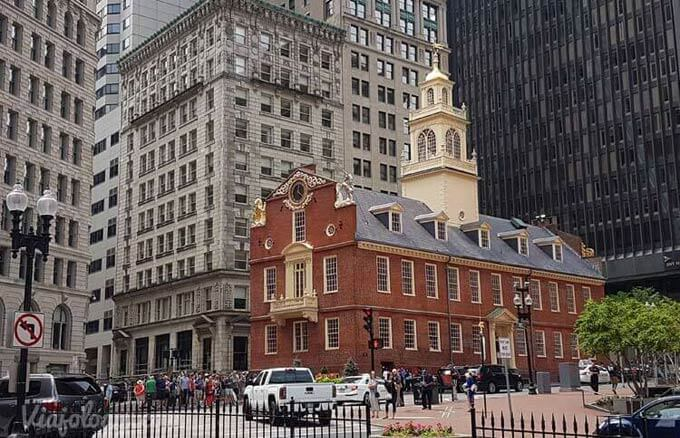 Boston Old State House, Boston - Ruta Costa Este Estados Unidos