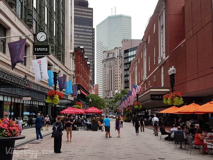 Summer Street en Boston