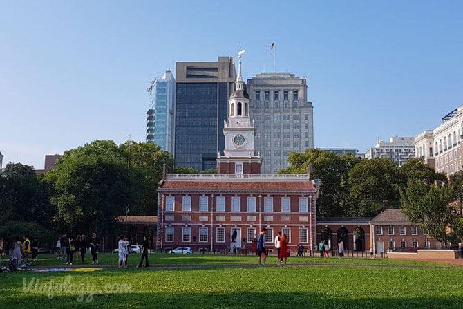 Indepence Hall Filadelfia