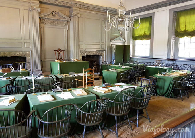 Assembly Room del Independence Hall de Filadelfia
