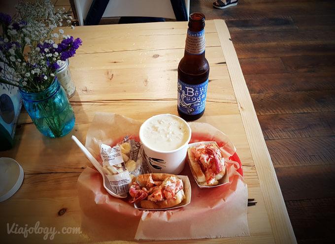 Lobster Roll en Boston