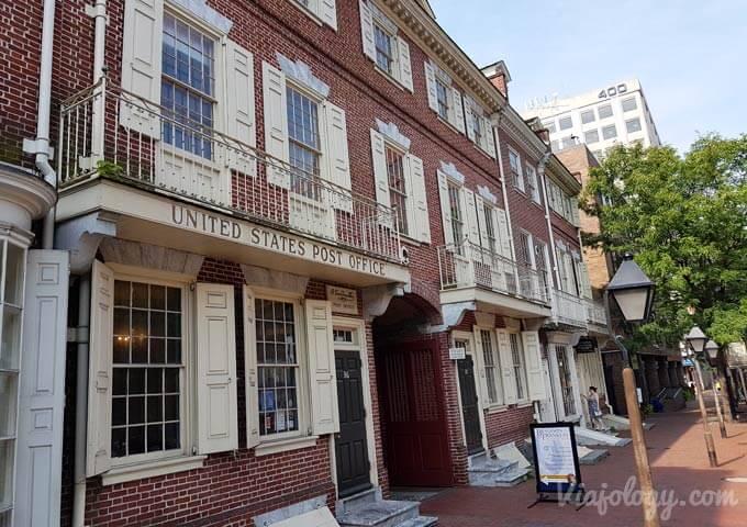 Primera oficina de Correos de Estados Unidos