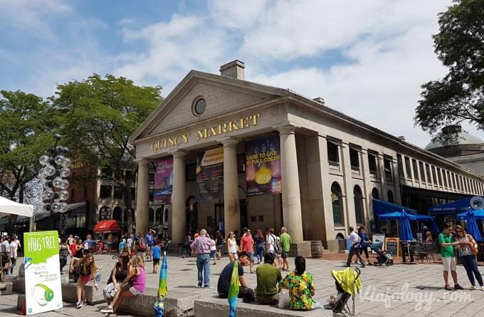 Quincy Market en Boston