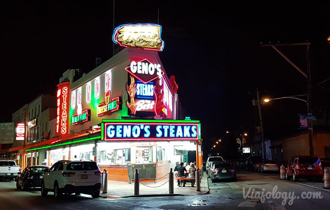 Geno's Steak en Filadelfia