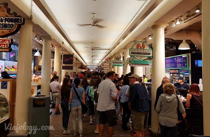 Interior Quincy Market
