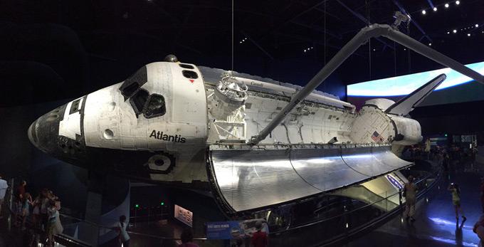 Visitar el Transbordadores Espacial Atlantis