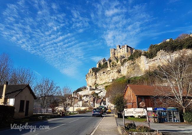 Beynac-et-Cazenac y su castillo