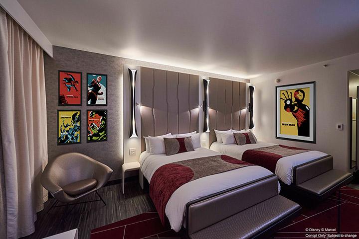 Hotel Marvel en Disneyland París
