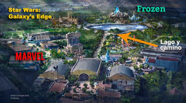 Nuevas zonas de Disneyland París