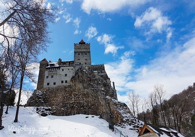 Castillo de Bran en la ruta por Rumanía