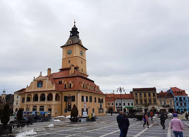 Antiguo Ayuntamiento de Brasov