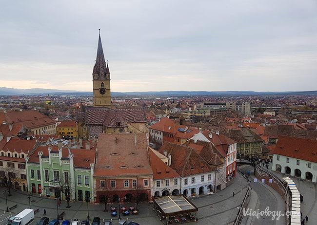 Catedral Evangélica desde la Torre del Consejo