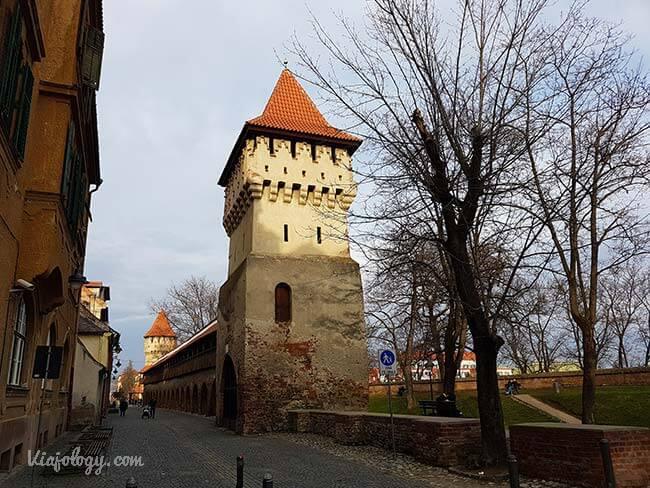 Torres y muralla de Sibiu