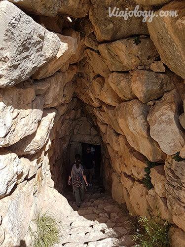 visitar cisterna Micenas