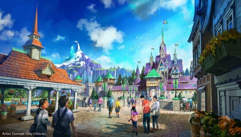 Frozen en la ampliación de Tokyo DisneySea