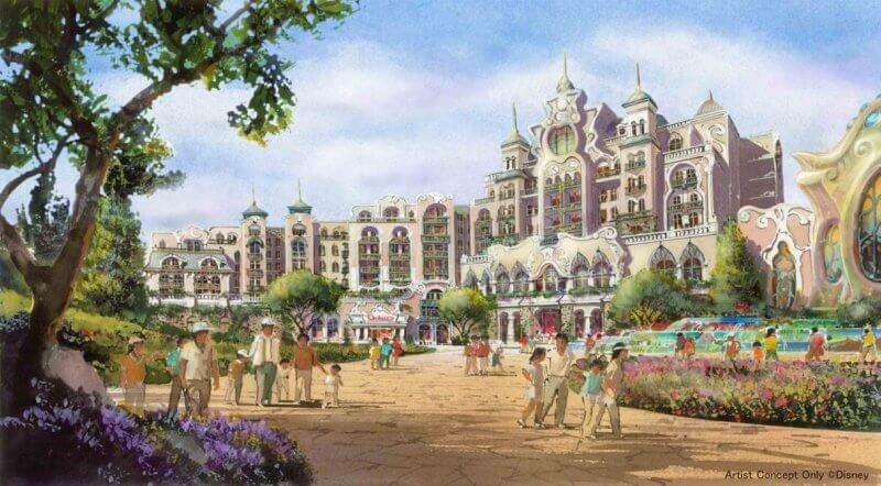 Nuevo hotel en Tokyo DisneySea