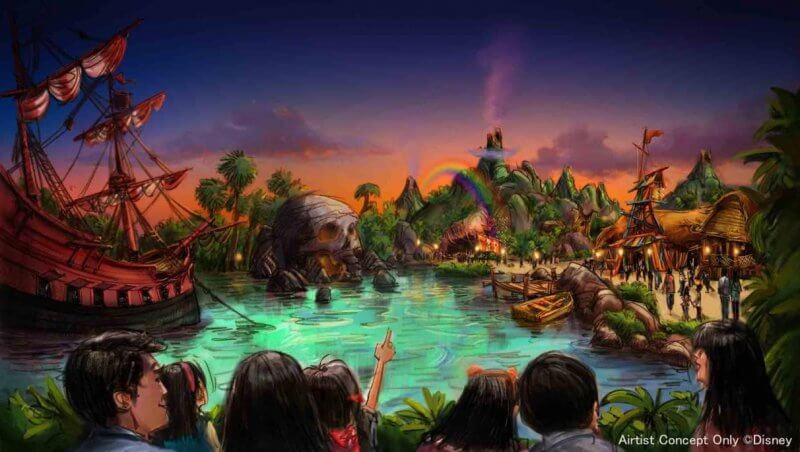 Expansión Peter Pan en Tokyo DisneySea