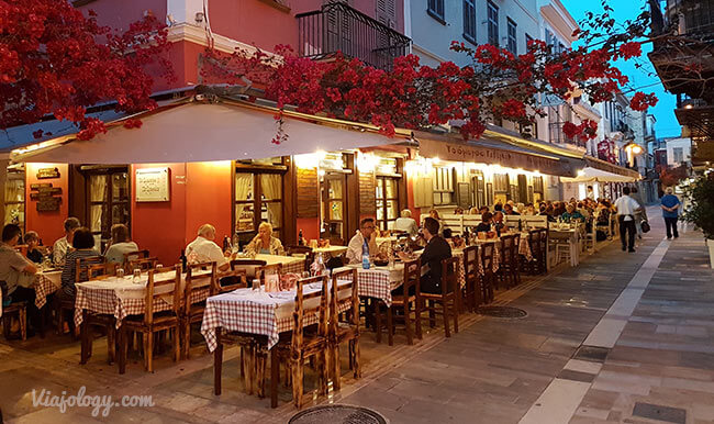 Restaurante en Nauplia