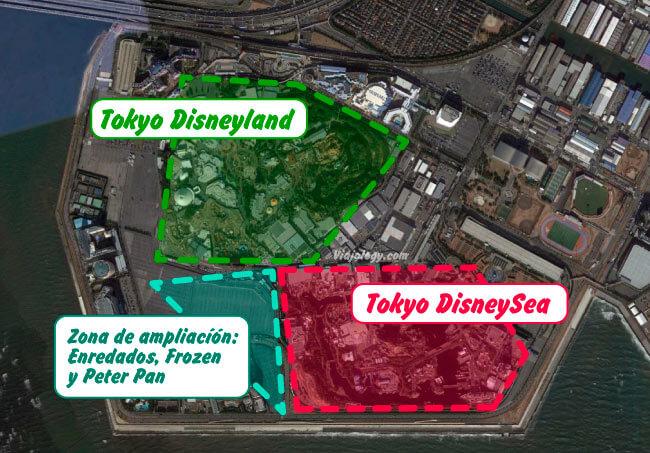 ampliación de Tokyo DisneySea
