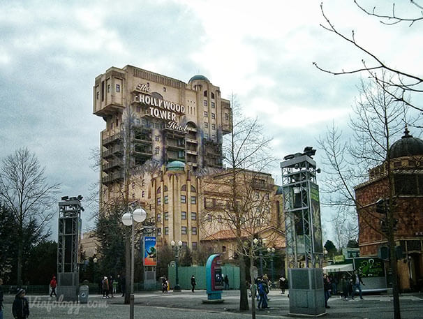 Tower of Terror en Disneyland Paris