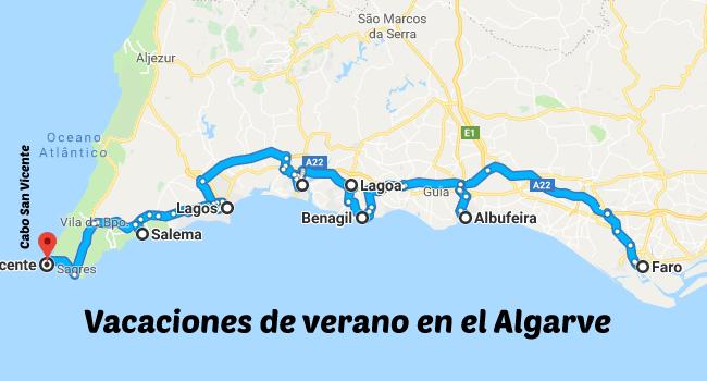 Vacaciones en el Algarve