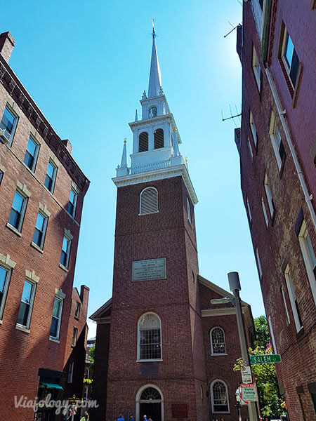 Iglesia Old North en Boston