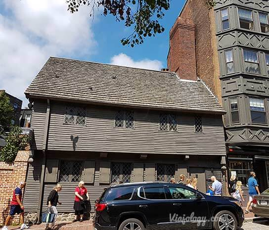 Casa de Paul Revere en Boston