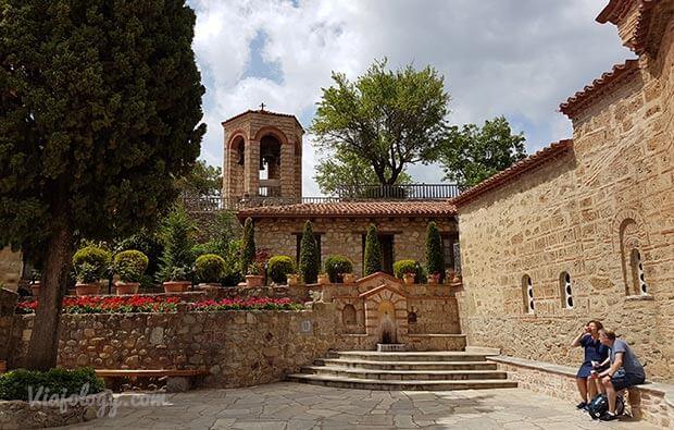 Interior monasterios Meteora