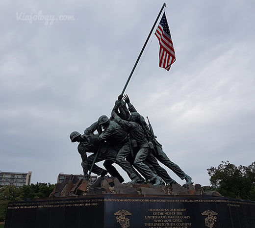 Monumento Iwo Jima en Washington
