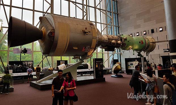 Museo del Aire y el Espacio en Washington
