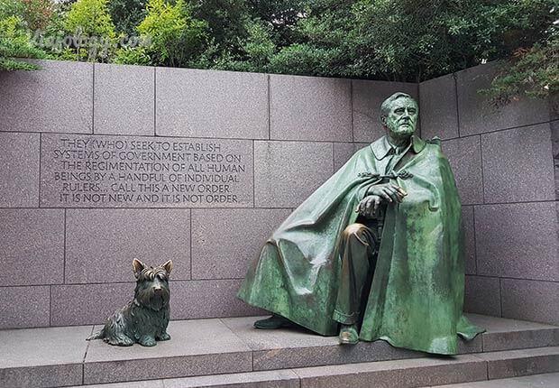Escultora Franklin D. Roosevelt