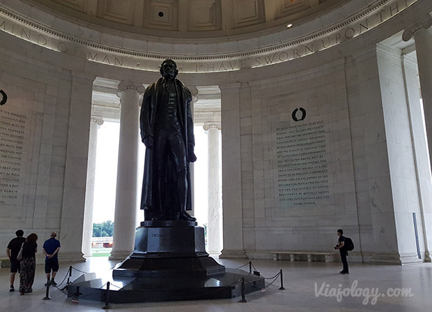 Monumento Thomas Jefferson en Washington