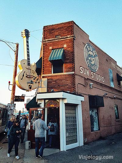 Sun Studio en Memphis
