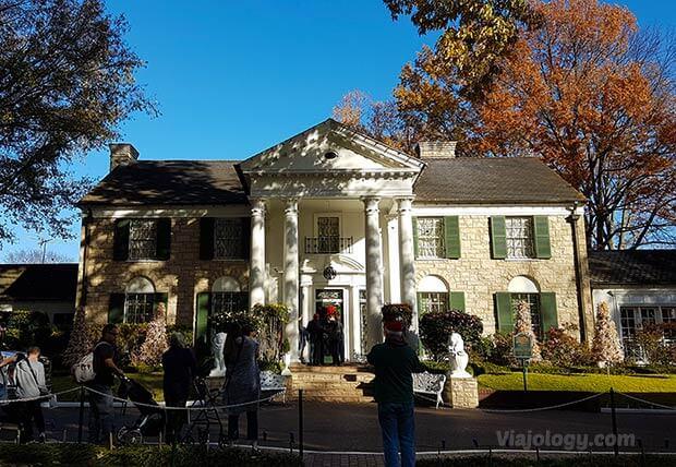 Graceland, la casa de Elvis Presley en Memphis